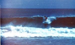 Crow surfing Bali 1977