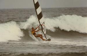 Geoff Windsurfing 1986