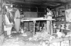 Marty & Roy Making Boards 1975