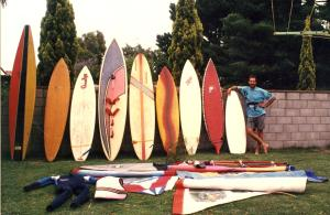 Crow and his Boards 1985