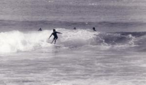 Michael Carr at Redhead 1977