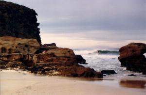 Redhead Beach surfing 1983