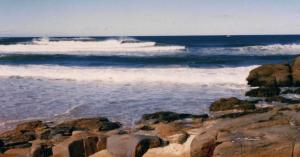 Redhead Little Beach going off 1985