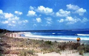 Bali Legian beach 1977