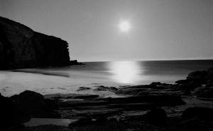 Redhead Beach by moonlight 1977