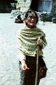 Bali Beggar Woman