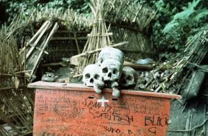 Bali Burial Site 1977