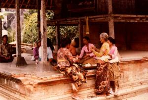 Bali Preparing Food