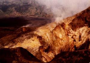 Bali Volcano Crater