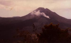 Bali Volcano 1977