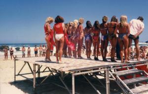 Redhead Beach beauty contest 1985