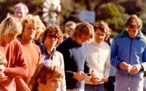 Bells Beach finalists 1977