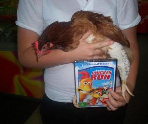 Wendy picks chicken run