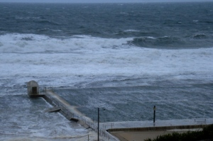 Merewether in storm 14-6-11
