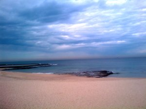 Newcastle Beach flat 03-08-11