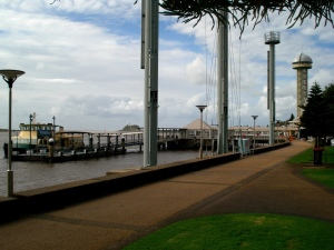 Newcastle Ferry Wharf 14-6-11