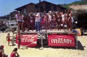 Redhead Beach Girl Contest 1985