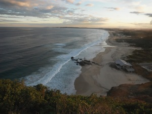Redhead Beach from the Bluff 11-08-11