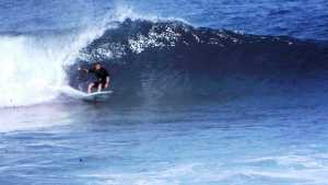 Redhead surfer Don Ashton