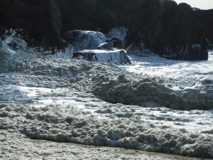 RedheadBeach foam-  5-12-11