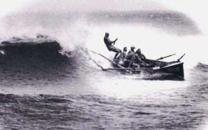 Redhead Surf Boat Crew 1977