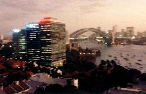 Sydney Harbour Bridge 1986