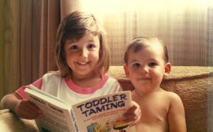 Toddler Taming Sam & Ellen 1990