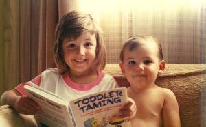 Toddler Taming Sam & Ellen 1990