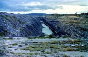 A Hunter Valley Coal Mine around 1986