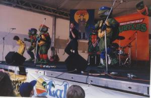 Ninja Turtles show Speers Point Park 1999