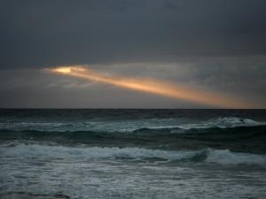 Redhead Beach sun ray 23-02-14
