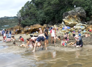 Hot Water Beach NZ 2014