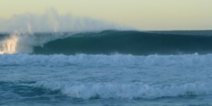 Redhead Beach heavy surf 11-07-14