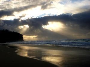 Clouds Redhead Beach 29-08-14