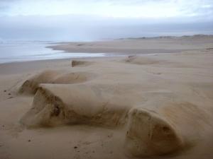 Sandscape Redhead Beach 30-08-14