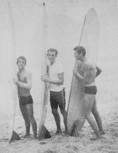 Redhead Beach early boardriders 1960