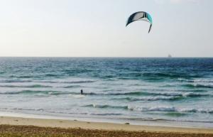 Redhead Beach Kite Surfer 11-11-14