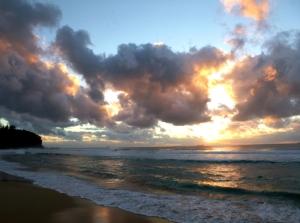 Redhead beach Clouds 04-02-2015