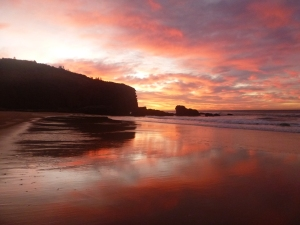 Redhead Beach sunrise 08-06-15