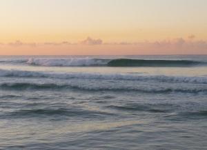 Nice left Redhead Beach 28-06-15