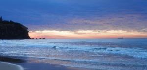 Redhead Beach technicolour sunrise 02-08-15
