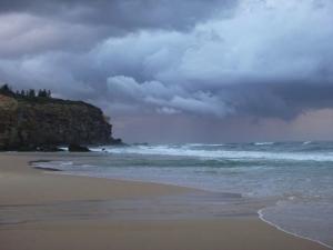 Redhead Beach Clouds 17-09-15