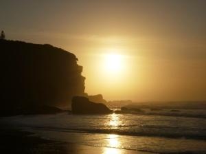 Redhead Beach gold sunrise 05-09-15