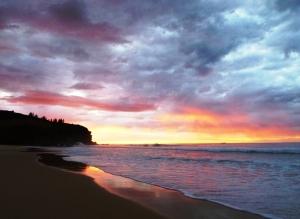 Redhead beach sunrise 31-07-15