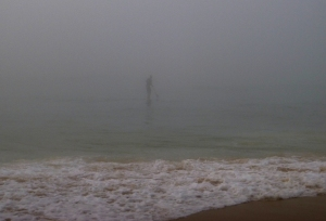 Sup in fog Redhead 11-12-15
