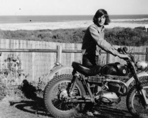 Geoff old Bultaco Matador 1971
