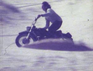 Crow on Bultaco 1969