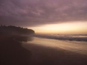Redhead beach sunrise 10-03-15