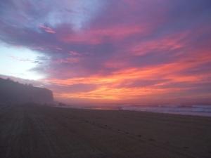 Redhead Beach sunrise 11-03-16