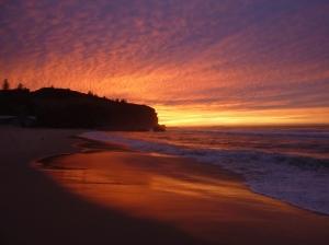 Redhead Beach gold morning 08-05-16